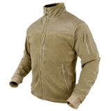 Condor Alpha Fleece Jacket Tan