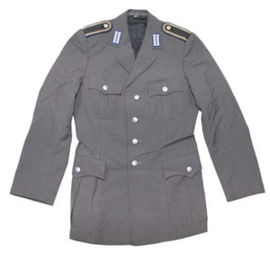 German Army Bundeswehr Uniform Jacket with Emblem - Grey
