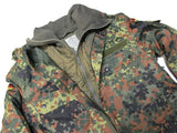 German Flecktarn Parka with Liner - Authentic Used Military Surplus