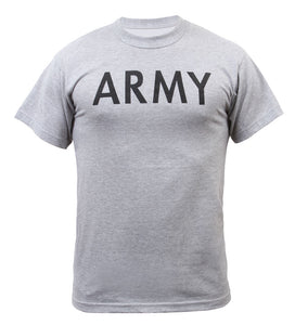 Rothco Grey Physical Training T-Shirt - ARMY