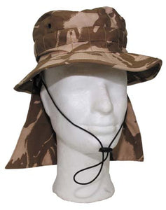 CLEARANCE - British Military Boonie Hat - Desert Camo