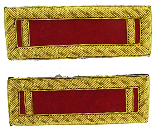 1LT Reproduction ARTILLERY Officer Civil War Shoulder Board Rank for Reenactors