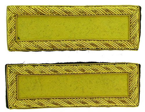 2LT Reproduction CAVALRY Officer Civil War Shoulder Board Rank for Reenactors
