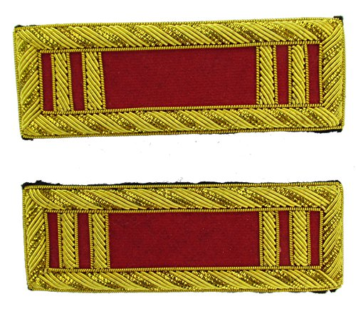 CAPTAIN Reproduction ARTILLERY Officer Civil War Shoulder Board Rank for Reenactors