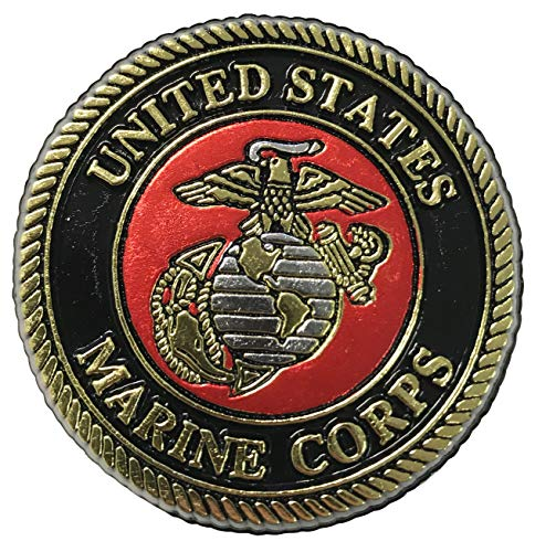 United States Marine Corps Crest Small Round Magnet