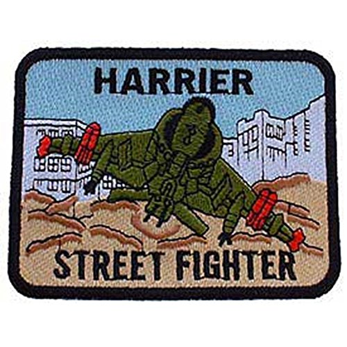 Eagle Emblems PM0251 Patch-USMC,Harrier Street (3.25 inch)