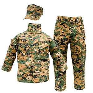 Kids Marine Uniform 3 Piece Set - Woodland Digital (MARPAT)