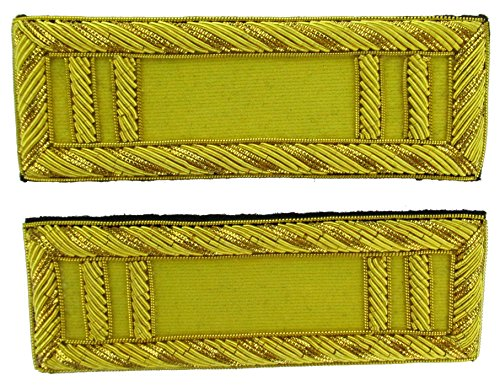 CAPTAIN Reproduction CAVALRY Officer Civil War Shoulder Board Rank for Reenactors