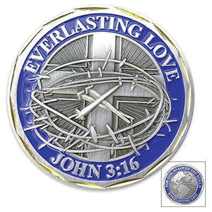 """Everlasting Love"" Challenge Coin"