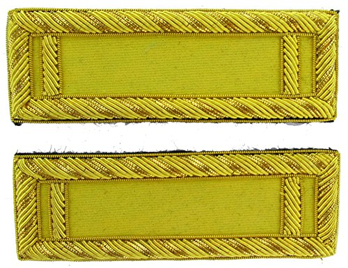 1LT Reproduction CAVALRY Officer Civil War Shoulder Board Rank for Reenactors