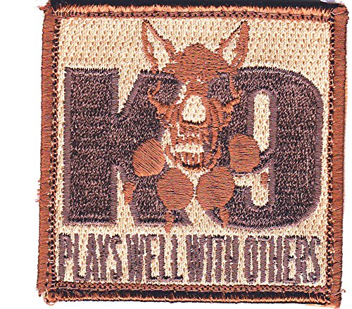 K9 Plays Well with Others Patch - K9 Morale Patch