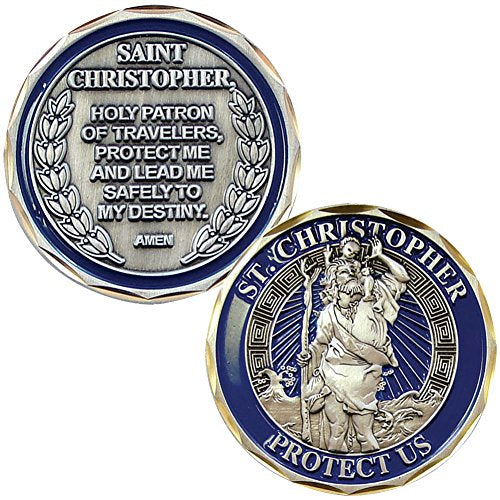 St. Christopher Challenge Coin