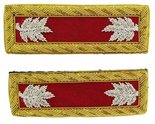 LT COL Reproduction ARTILLERY Officer Civil War Shoulder Board Rank for Reenactors