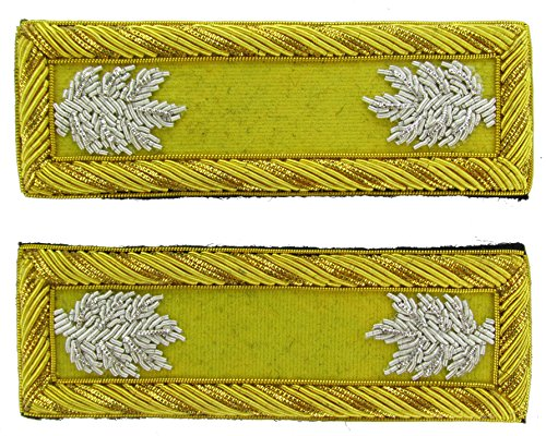 LT COL Reproduction CAVALRY Officer Civil War Shoulder Board Rank for Reenactors