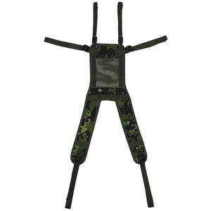 Danish Military Backpack Suspenders - M84 Camo