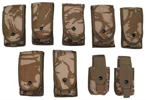 British Military Ammo Pouch Set