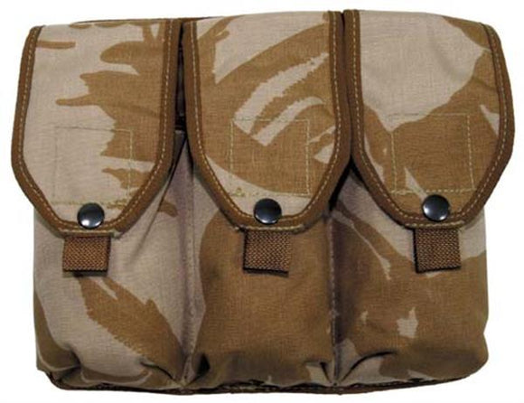 British Military 3 Compartment Ammo Pouch