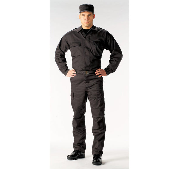 Rothco Tactical BDU Shirts Black