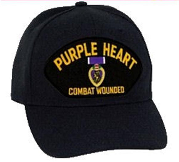 Purple Heart Combat Wounded Low Profile Hat
