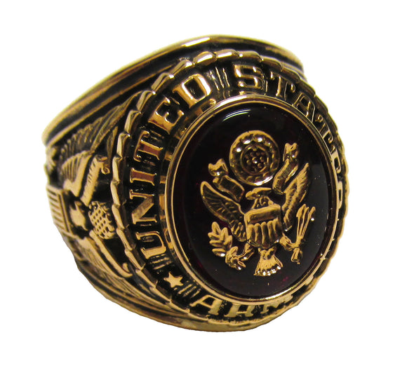 U.S. Army Ring - Electorplated 18k Gold Ring