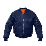 Rothco Kids MA-1 Flight Jackets Navy Blue
