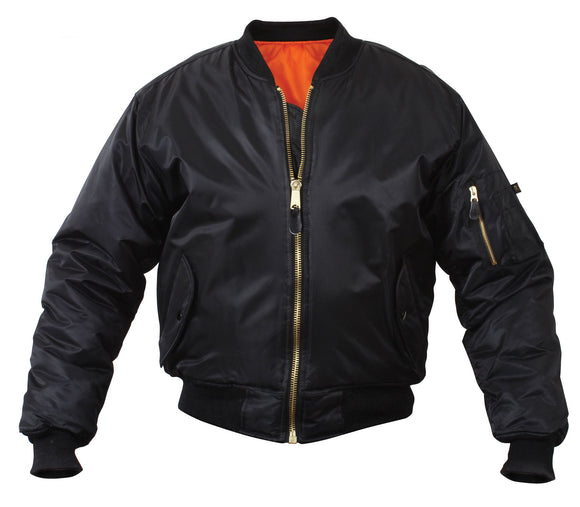 Rothco MA-1 Flight Jacket - Black