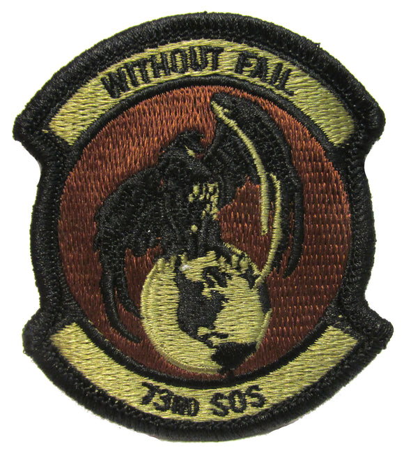 73rd Special Operations Squadron OCP Patch - Spice Brown
