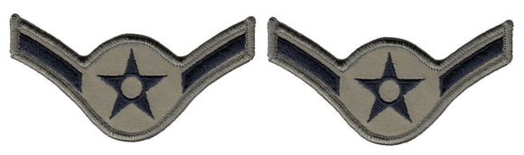 U.S. Air Force Chevrons for Enlisted - ABU USAF Rank CLOSEOUT Buy Now and SAVE