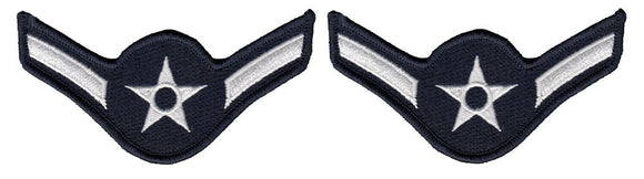 U.S. Air Force Chevrons for Enlisted - Dress Uniform USAF Rank