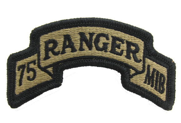 75th Ranger Regiment MIB OCP Scroll Patch - Military Intelligence Battalion