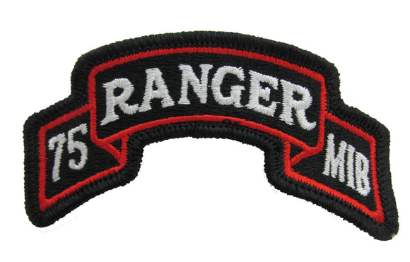 75TH RANGER REGIMENT MIB PATCH - MILITARY INTELLIGENCE BATTALION