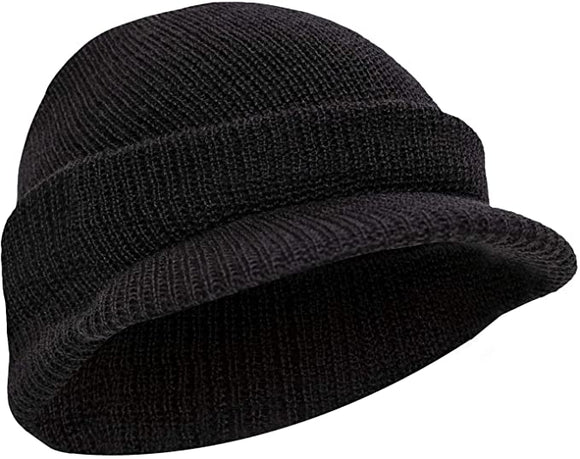Rothco Genuine G.I. Jeep Cap Black