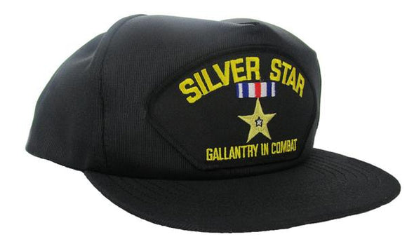 Silver Star Ball Cap