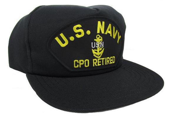 U.S. Navy CPO Retired Ball Cap