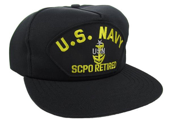 U.S. Navy SCPO Retired Ball Cap