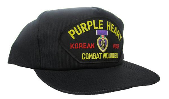 Korean Purple Heart Veteran Ball Cap