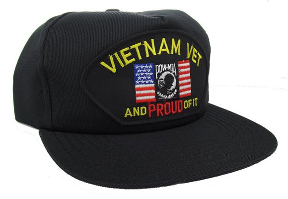 Vietnam Veteran and Proud of It Ball Cap