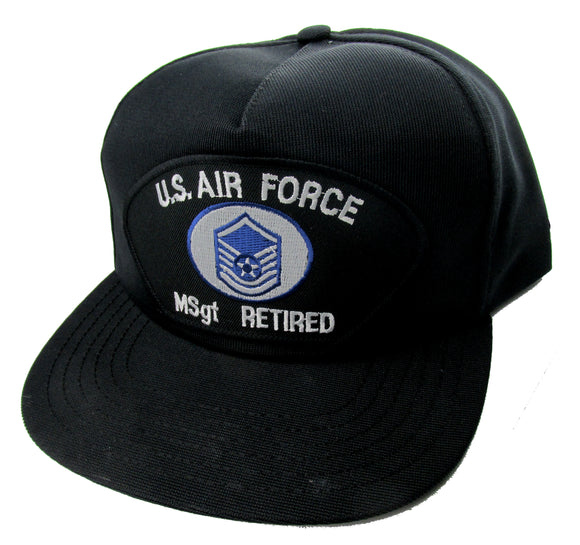 U.S. Air Force MSGT Retired Ball Cap