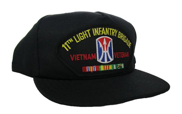 11th Light Infantry Brigade Vietnam Veteran Ball Cap