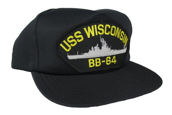 USS Wisconsin Ball Cap