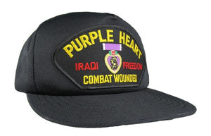 Iraqi Freedom Purple Heart Ball Cap