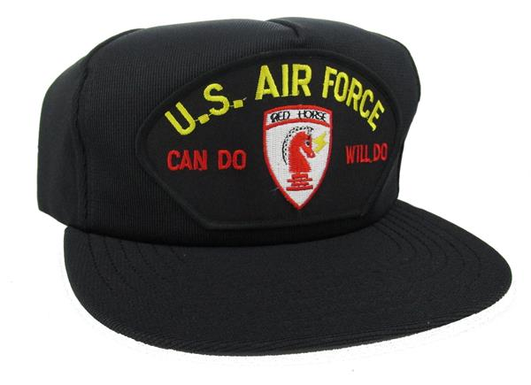U S Air Force Red Horse Can Do Will Do Ball Cap