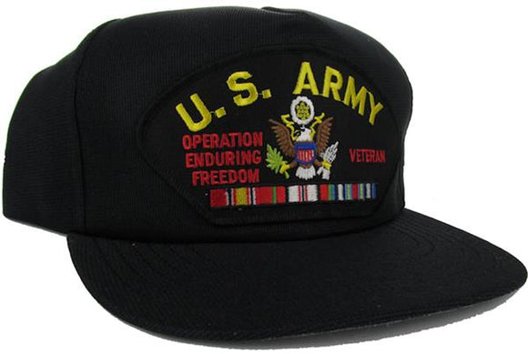 U.S. Army Enduring Freedom Veteran Ball Cap