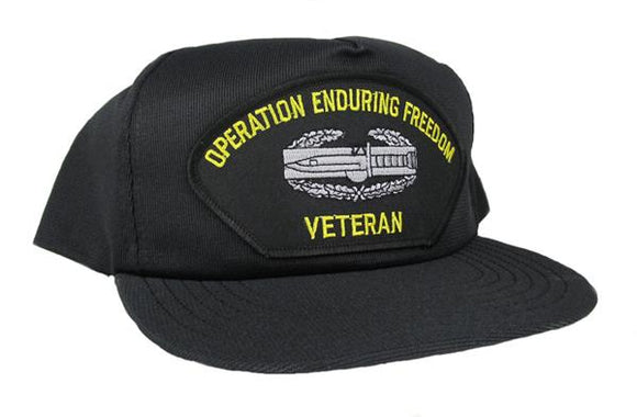 Operation Enduring Freedom Veteran Ball Cap