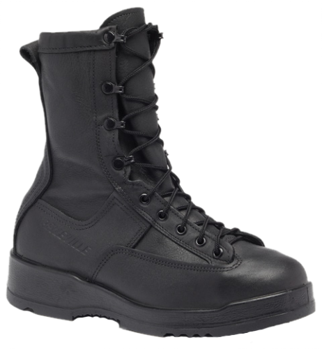 Belleville 800 ST Waterproof Steel Toe Flight & Flight Deck Boots - Black