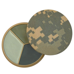 Rothco 5 Color Camo Face Paint - Square Compact