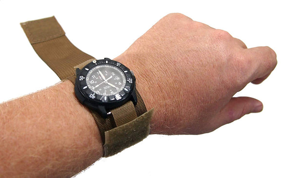 Raine Military Covered Watchband - Coyote