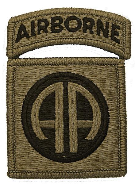 82nd Airborne Division Multicam  OCP Patch with Airborne Tab