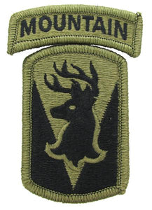 86th IBCT (Infantry Brigade Combat Team) OCP Patch with Mountain Tab - Scorpion W2