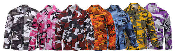 Rothco Color Camo BDU Shirt - Various Colors